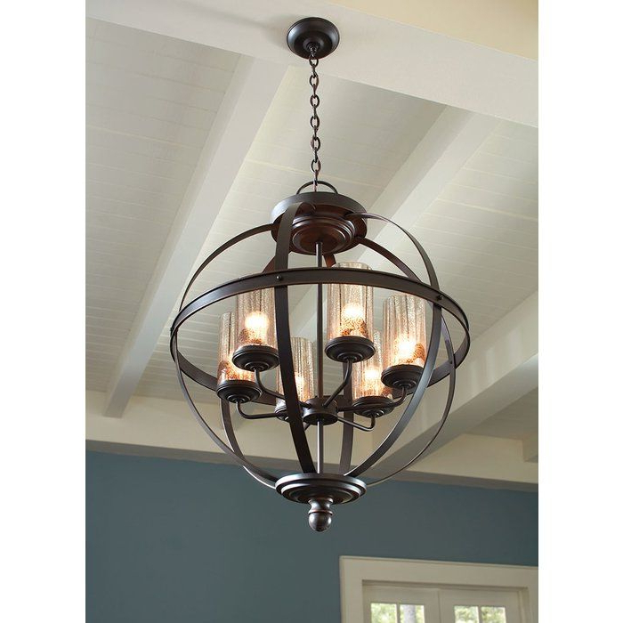 Donna 6 Light Globe Chandelier In 2019 (Gallery 4 of 30)