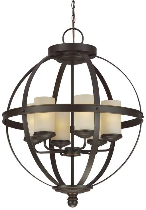 Donna 6 Light Globe Chandeliers In Trendy Pin On Products (View 17 of 30)