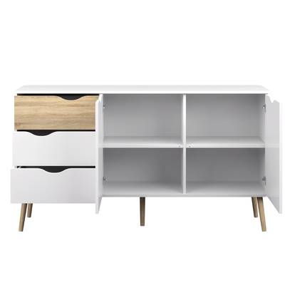 Dowler 2 Drawer Sideboards For Preferred Hannah Server & Reviews (View 8 of 20)