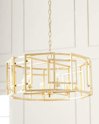 Drum Chandelier – Shopstyle Intended For Fashionable Gisselle 4 Light Drum Chandeliers (View 3 of 30)