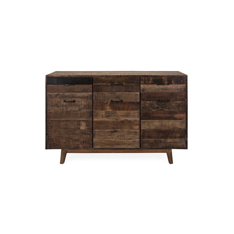 Drummond 3 Drawer Sideboards For Fashionable Hector Reclaimed Wood Sideboardimax –  (View 3 of 20)