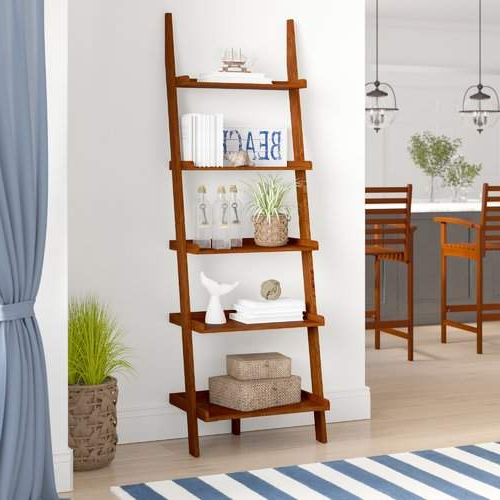 Dunhill Ladder Bookcase In  (View 4 of 20)