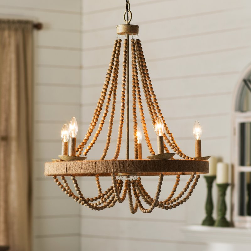Duron 5 Light Empire Chandelier Regarding 2020 Ladonna 5 Light Novelty Chandeliers (View 6 of 30)