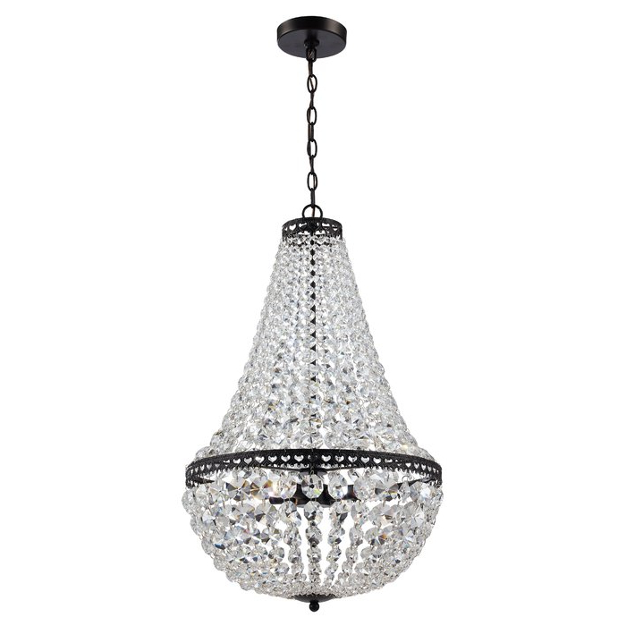Duron 5 Light Empire Chandeliers For Best And Newest Duron 4 Light Empire Chandelier (View 6 of 30)