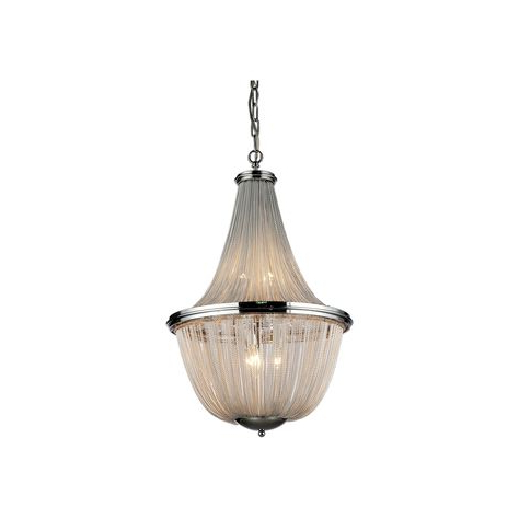 Duron 5 Light Empire Chandeliers Pertaining To Most Up To Date Tilden Wood Bead 5 Light Empire Chandelier (View 7 of 30)