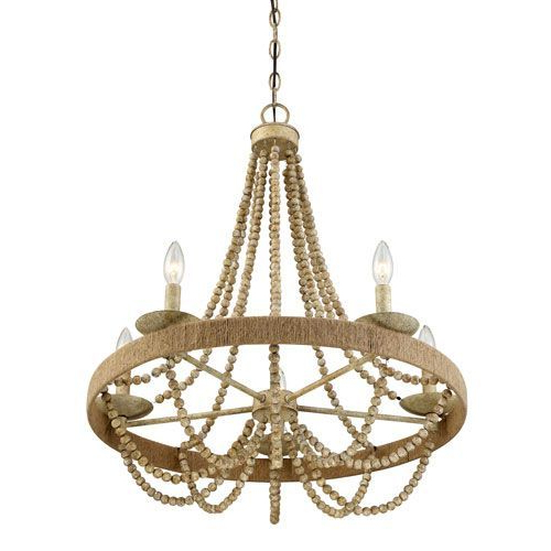 Duron 5 Light Empire Chandeliers With Well Known 251 First Selby Natural Wood Five Light Chandelier (Gallery 11 of 30)