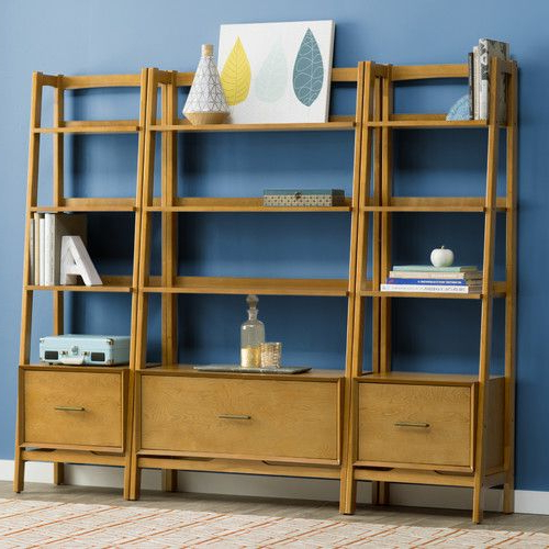 Easmor Etagere Bookcase (Gallery 8 of 20)