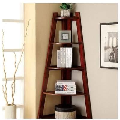 Ebern Designs Herrod Corner Unit Bookcase Ebern Designs Regarding Most Current Hewitt Corner Bookcases (View 19 of 20)