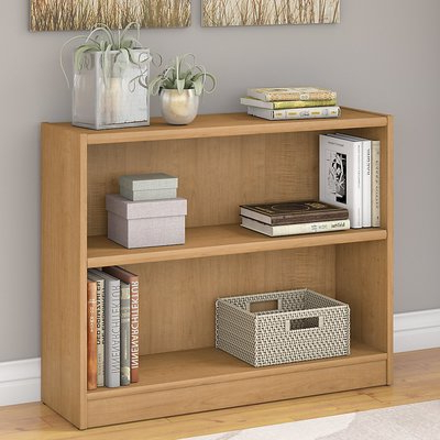Ebern Designs Kirkbride Standard Bookcase Finish: Snow Maple Pertaining To Popular Kirkbride Standard Bookcases (Gallery 12 of 20)