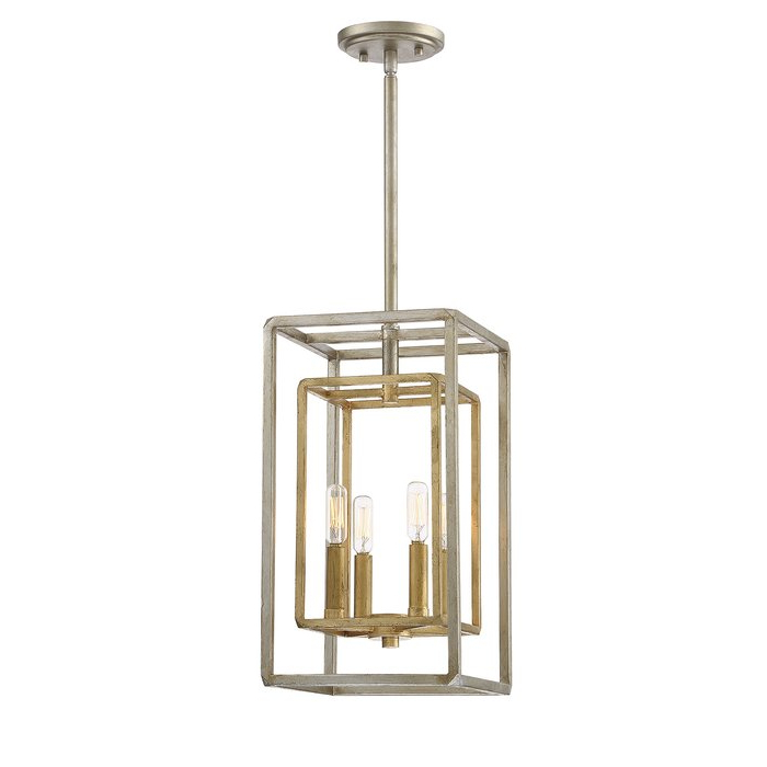 Eglantina 4 Light Lantern Square / Rectangle Pendant With Regard To Most Popular 4 Light Lantern Square / Rectangle Pendants (Gallery 17 of 30)