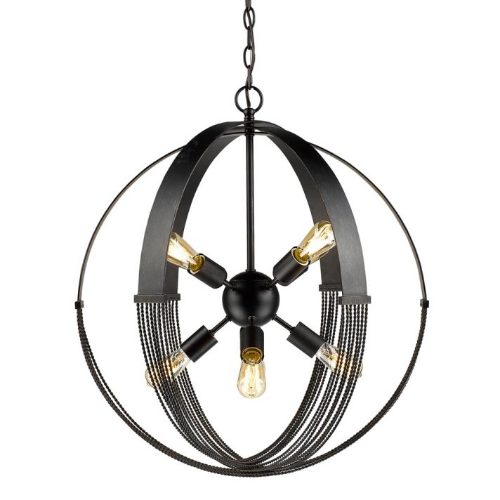 Eladia 6 Light Sputnik Chandeliers With Well Known Lowes Kichler Chandelier Semi Flush Ceiling Lights Ikea (View 8 of 30)