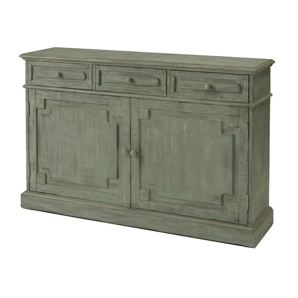 Eliza Credenza Antique Eucalyptus Accent Cabinet Inside Best And Newest Elyza Credenzas (View 7 of 20)