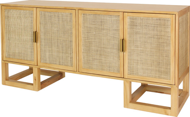 Emmaline Sideboards Inside Well Known Worlds Away, Patrick Cabinet, Pine (Gallery 19 of 20)