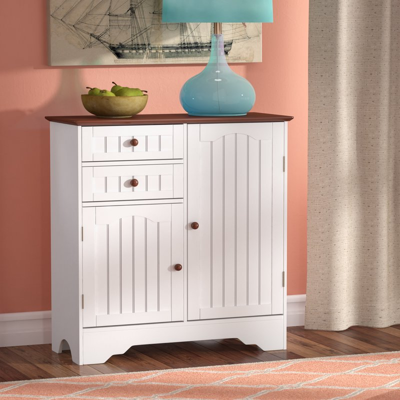Emmaline Wood Storage 2 Door Accent Cabinet For Current Emmaline Sideboards (View 16 of 20)