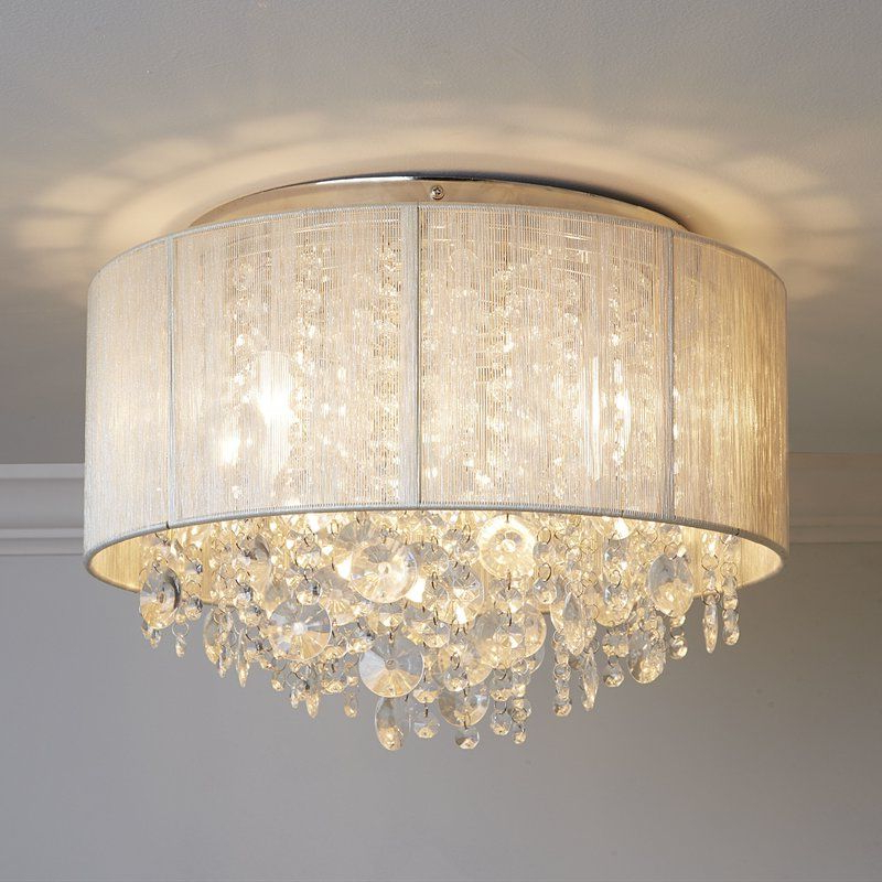Entry Throughout Best And Newest Alverez 4 Light Drum Chandeliers (View 8 of 30)