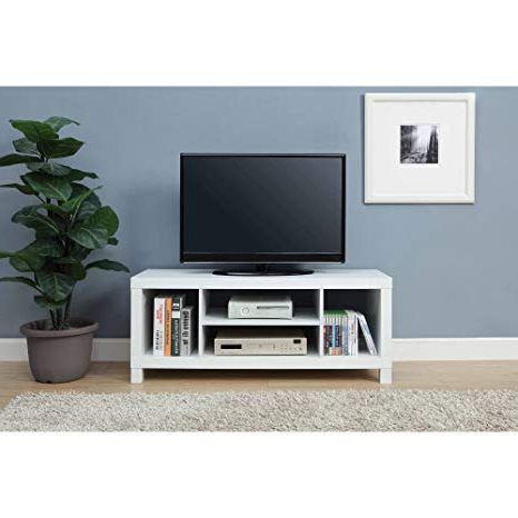 "Ericka Tv Stands For Tvs Up To 42"" Throughout Most Recent Mainstay.. Tv Stand For Tvs Up To 42"", Dimension: 47.24 X 15.75 X (View 4 of 20)"