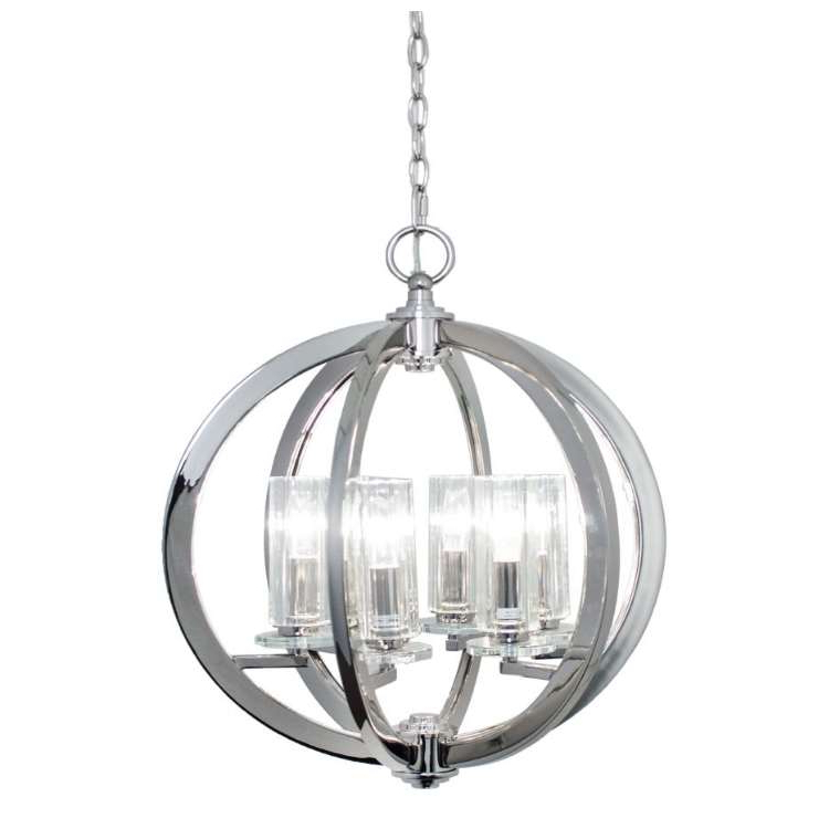 Eros Globe Light With Most Current Donna 6 Light Globe Chandeliers (View 16 of 30)