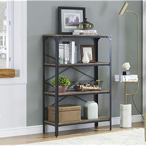Etagere Bookcase: Amazon With Fashionable Baguia Etagere Bookcases (View 11 of 20)