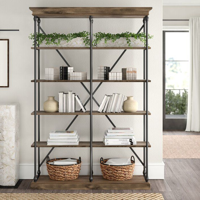 Etagere Bookcase Within Popular Beckwith Etagere Bookcases (View 6 of 20)