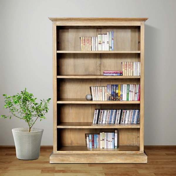 Euben Standard Bookcasecanora Grey Pertaining To Most Recent Maryln Standard Bookcases (Gallery 3 of 20)