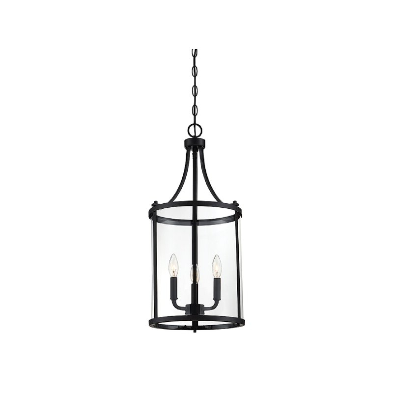 Ezio 3 Light Lantern Cylinder Pendant Within 2020 Tessie 3 Light Lantern Cylinder Pendants (View 4 of 30)