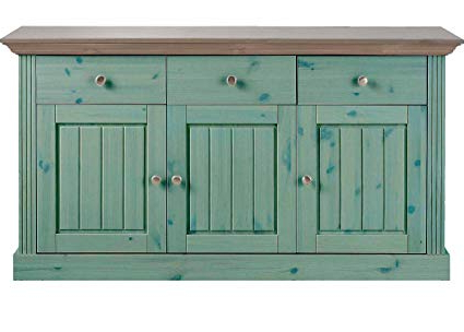 Famous Alegre Sideboards Pertaining To Aprodz Solid Wood Alegre Sideboard Storage Cabinet For (Gallery 7 of 20)