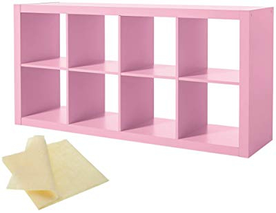 Famous Amazon: Bush Furniture Broadview 6 Cube Storage Bookcase For Broadview Cube Unit Bookcases (Gallery 14 of 20)
