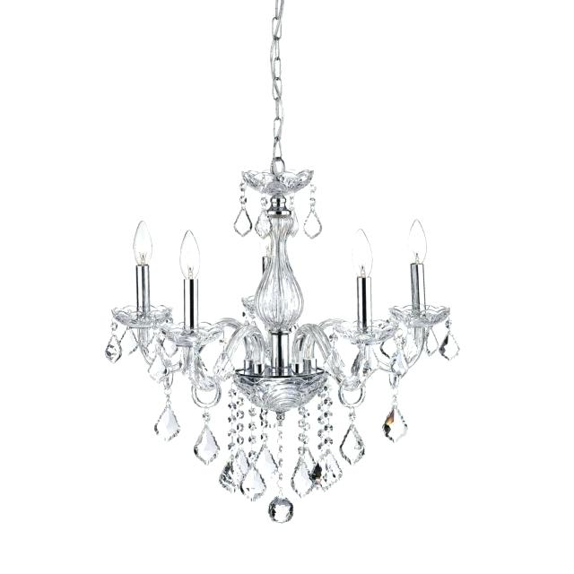 Famous Benedetto 5 Light Crystal Chandeliers Pertaining To 5 Light Crystal Chandelier (Gallery 10 of 30)