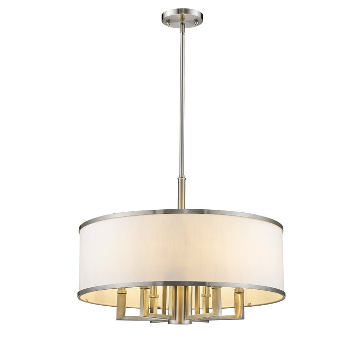 Famous Breithaup 7 Light Drum Chandelier With Breithaup 4 Light Drum Chandeliers (Gallery 16 of 30)