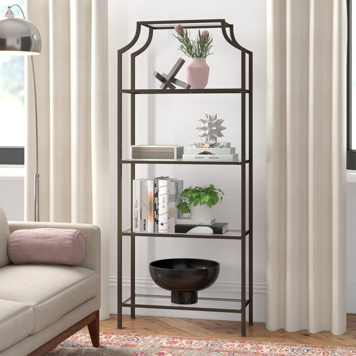 Famous Buchanan Etagere Bookcase With Buchanan Etagere Bookcases (View 10 of 20)