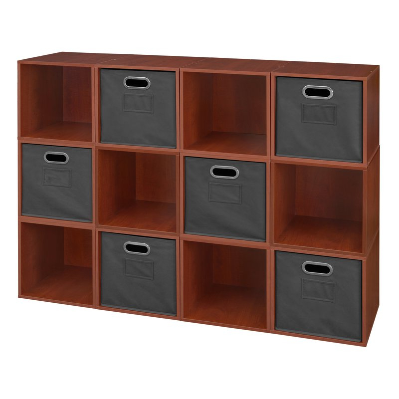 Famous Chastain Storage Cube Unit Bookcase Pertaining To Chastain Storage Cube Unit Bookcases (Gallery 2 of 20)