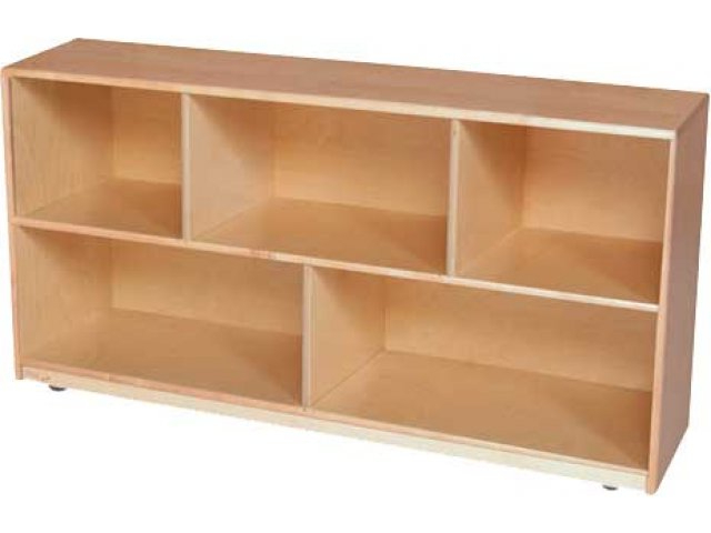 """Famous Classroom Cubby Standard Bookcases Pertaining To Maple Classroom Cubby Storage 48""""x12""""x30""""h (View 13 of 20)"""