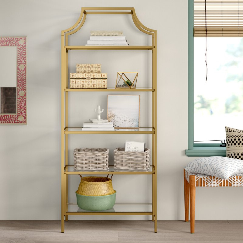 Famous Damon Etagere Bookcase Regarding Caldwell Etagere Bookcases (View 11 of 20)