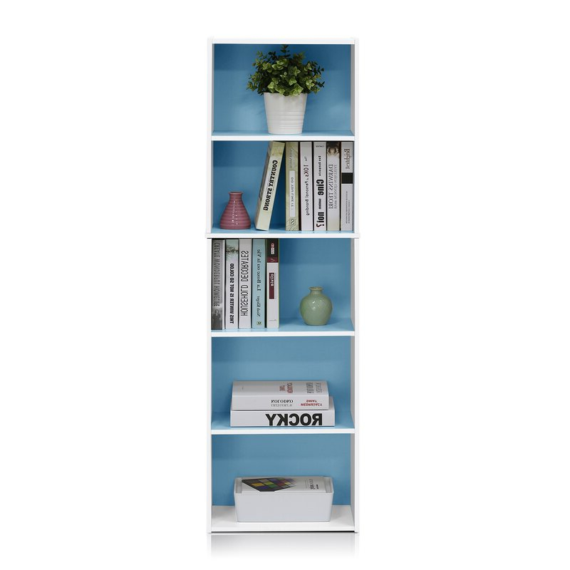 Famous Decorative Standard Bookcases In Saidnawey Standard Bookcase (View 10 of 20)