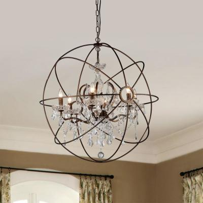 Famous Donna 6 Light Globe Chandeliers With Regard To No Additional Accessories – Crystal – Chandeliers – Lighting (View 25 of 30)