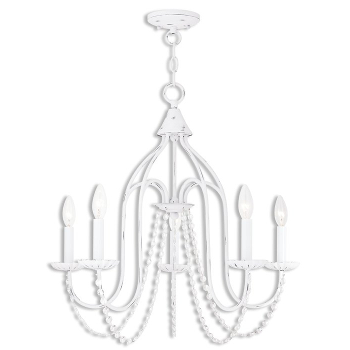 Famous Florentina 5 Light Candle Style Chandelier For Florentina 5 Light Candle Style Chandeliers (View 7 of 30)