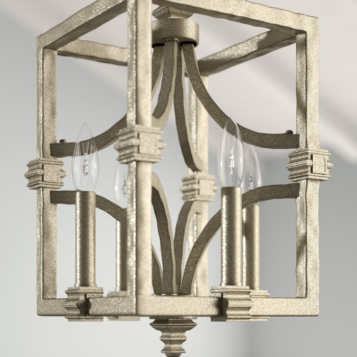 Famous Freeburg 4 Light Lantern Square / Rectangle Pendant For Freeburg 4 Light Lantern Square / Rectangle Pendants (View 7 of 30)