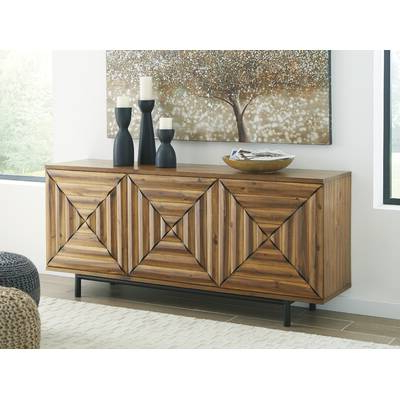 Famous Kolton Buffet Table Intended For Jacklyn 3 Door Sideboards (View 14 of 20)