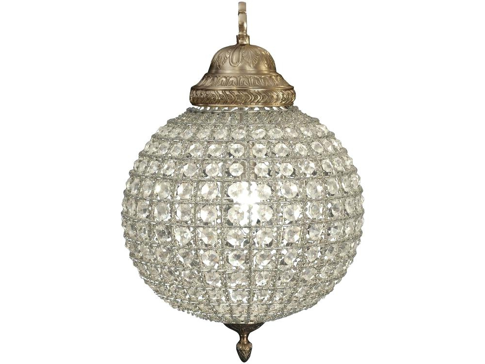 Famous Lighting : Charming Round Globe Chandelier Light Enchanting Pertaining To Waldron 5 Light Globe Chandeliers (View 7 of 30)