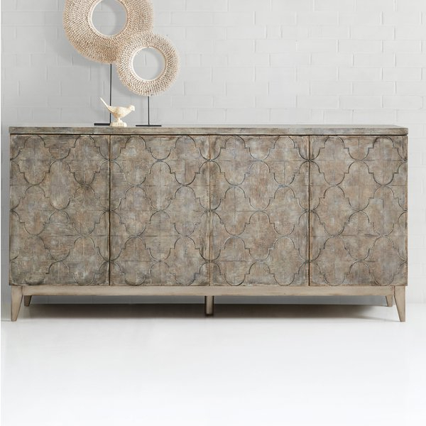 Famous Melange Fairfax Credenza (View 12 of 20)