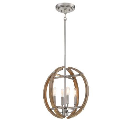 Famous Minka Group® :: Interior Lighting :: Ceiling :: Pendant With Aurore 4 Light Crystal Chandeliers (Gallery 24 of 30)