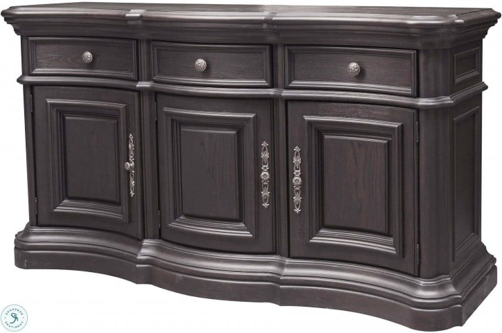 Famous Palisade Distressed Dark Brown Sideboard With Regard To Palisade Sideboards (Gallery 7 of 20)