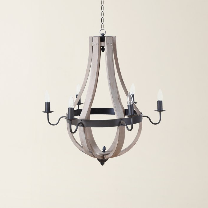 Famous Phifer 6 Light Empire Chandelier With Regard To Phifer 6 Light Empire Chandeliers (View 7 of 30)