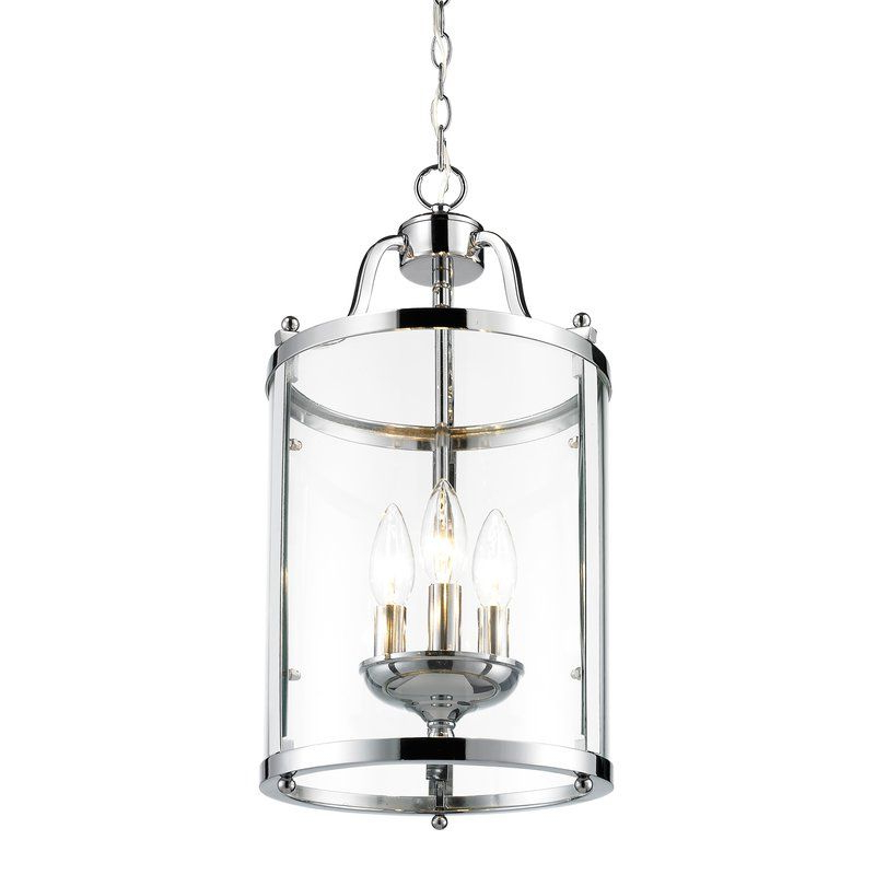 Famous Tessie 3 Light Foyer Pendant (View 7 of 30)