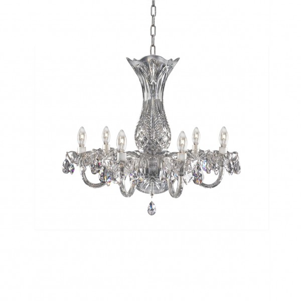 Famous Watford 6 Light Candle Style Chandeliers With Regard To Crystal Chandeliers & Lighting – Waterford® Us (Gallery 30 of 30)