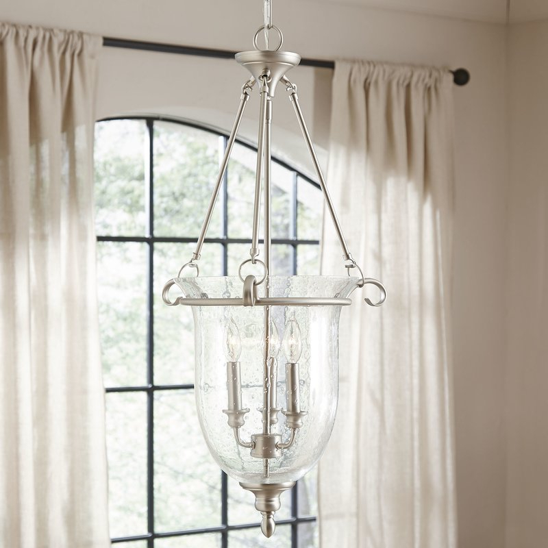 Fashionable Alden 3 Light Single Globe Pendants Throughout 3 Light Single Urn Pendant (Gallery 17 of 30)