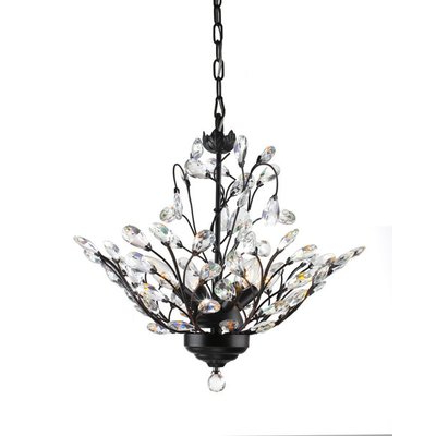Fashionable Aldgate 4 Light Crystal Chandeliers With Astoria Grand Wallenstein Leaves 4 Light Led Mini Chandelier (Gallery 17 of 30)