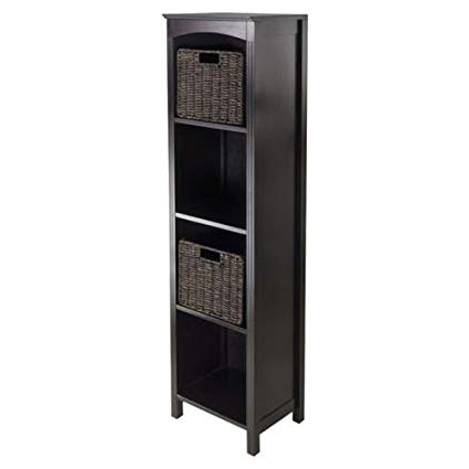"Fashionable Amazon: Charlton Home Martinsville 56"" Standard Bookcase Pertaining To Martinsville Standard Bookcases (Gallery 7 of 20)"