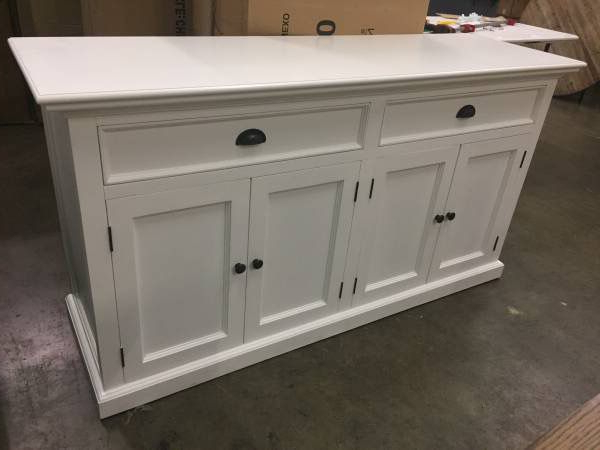 Fashionable Amityville Wood Sideboard White For Sale In Indianapolis, In – Offerup With Amityville Wood Sideboards (Gallery 8 of 20)