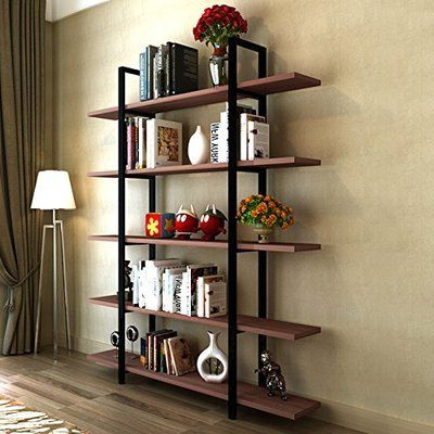 Fashionable Babbitt Etagere Bookcases In Super Functional – Wayfair Melia Vintage Industrial Style  (View 10 of 20)